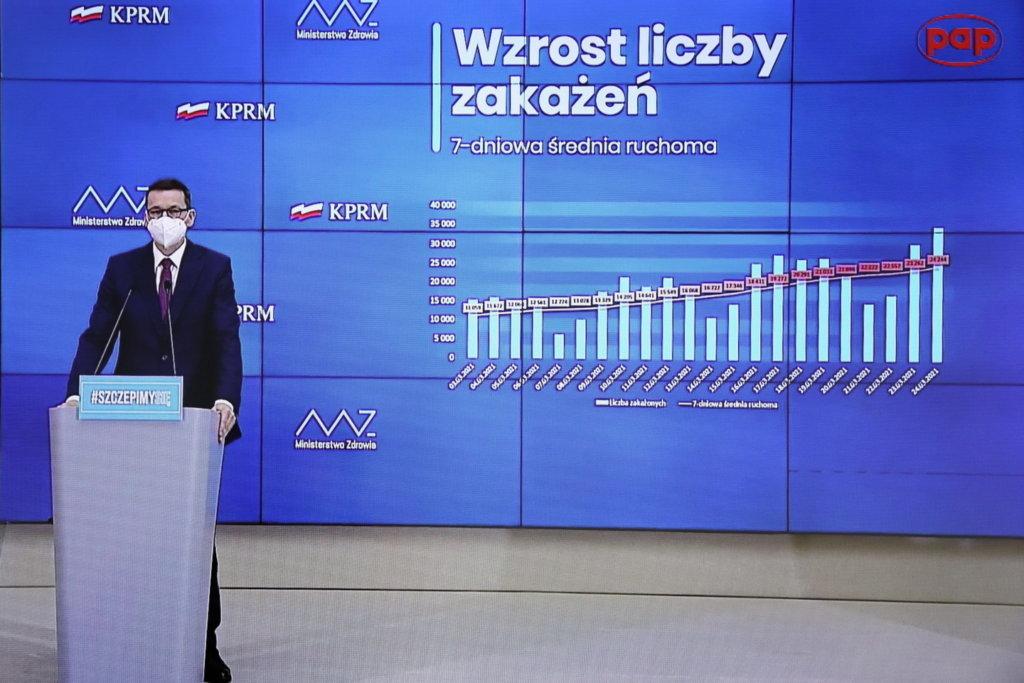 Morawiecki będzie się szczepić AstraZeneką, wbrew biskupom?
